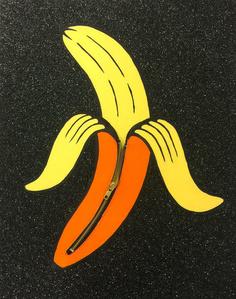 Banana Unzipped (Yellow)