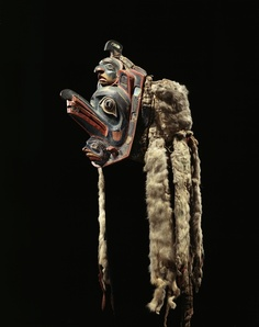 Bella Coola Headdress