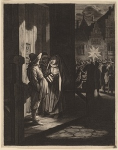 The Star of Kings, a Night Piece,  after Pieter Molijn