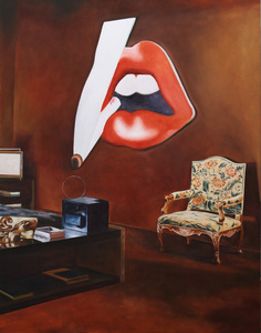 American Collection Painting 14 (Wesselmann)