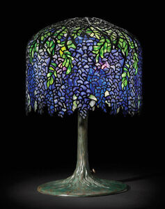 Wisteria Shade on Tree Trunk Base
