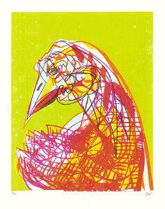Chartruese Bird