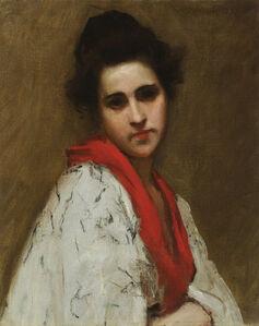 Portrait of a Woman (Lady in Kimono)