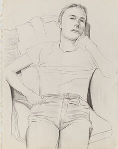 Untitled ( Figure in Chair )