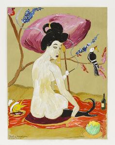 Sketch of Oriental Picnic