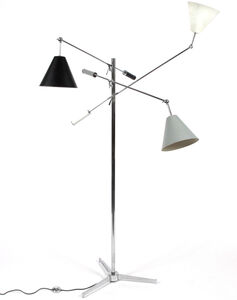 Three Arm Floor Lamp