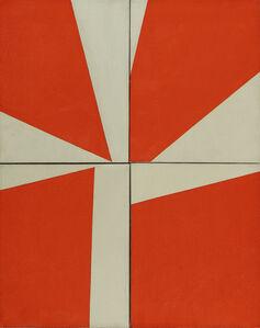 Orange, White Composition