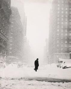 Little Man in Snow