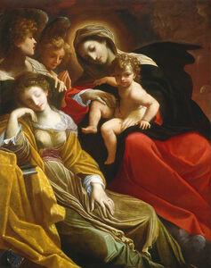 The Dream of Saint Catherine of Alexandria