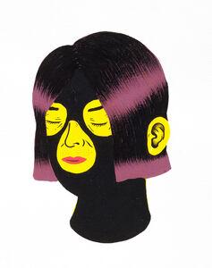 Portrait Black Face #18