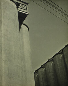 Untitled (cylinders and lines)