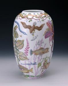 Mark Catesby Marine Vase