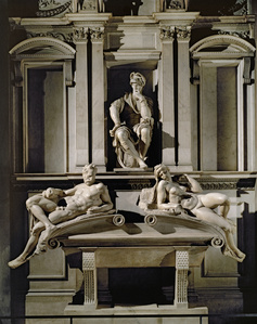 Tomb of Lorenzo de Medici, Duke of Urbino, with Dawn and Evening