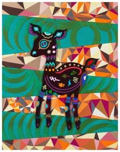PAPER-CUT  – Dear  Deer