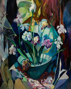 Still Life with Irises