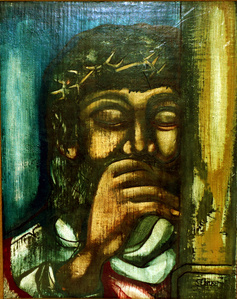 Christ with a Crown of Thorns
