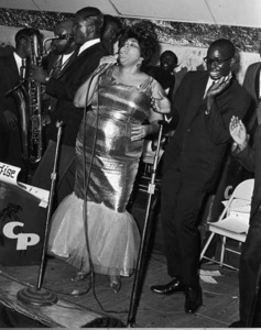 Big Ella at The Club Paradise, Memphis, TN, 1960s