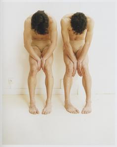 Etude de deux danseurs, mouvement de tete, 1