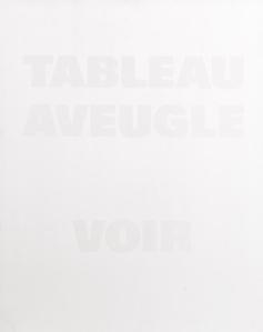 TABLEAU AVEUGLE VOIR