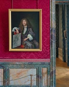 Salle de la création de l'académie de Peinture et de sculpture, (II) ANR.01.011, Sale du XVII, Aile du Nord- RDC, Château de Versailles, France