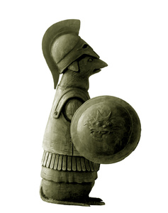 Greek Warrior Mouse