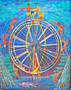 THE WHEEL OF FORTUNE from the Journey of the Tarot Series