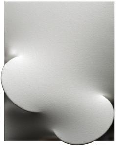 Due ovali metallizzati