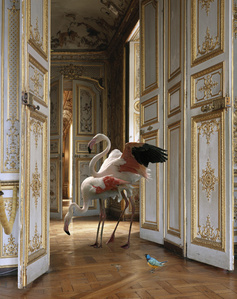 """The Grand Monkey Room (2).From the series """"Fables"""""""