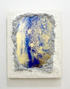 Mirror painting series no.4 (Lapis)