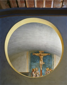 Crucifixion with the Virgin and Saints by Fra Angelico #1, San Marco Convent, Florence, Italy