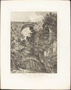 Ponte antico a Cività Castellana, volgarmente detto ponte Terano