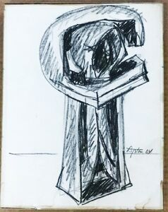 Untitled Study for Sculpture