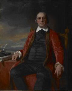 Portrait of David Hartley, M.P. (1732-1813)
