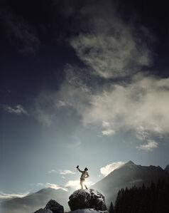 Selbstbildnis I vom Obersalzberg
