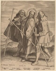 Christ and His Disciples on the Way to Emmaus