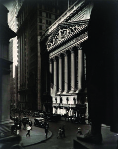 Wall Street and Stock Exchange