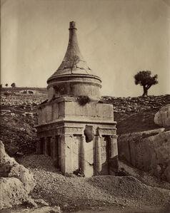 Jérusalem, Tombeau de Absalom