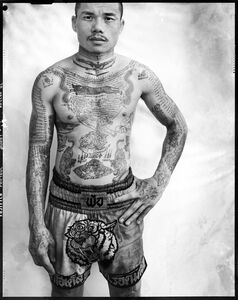 Yantra the sacred ink, Portrait 6 (Muay Thai Boxer)