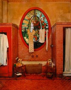 Red Bathroom (Havana)