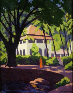 Temple, Kandy, Ceylon