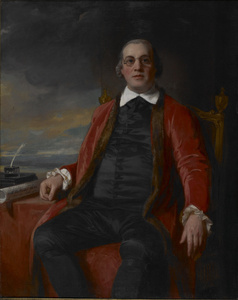 Portrait of David Hartley, M.P. (1732-1813)