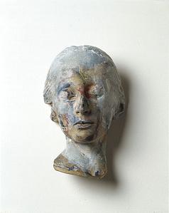 Masque mortuaire d'une femme inconnue