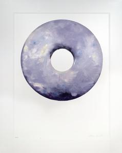 Lavender Cream Donut