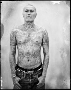 Yantra the sacred ink, Portrait 14 (Market Trader)