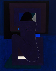 Single Figure (Violet)