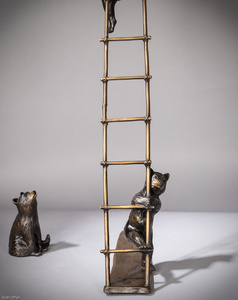 Trouble - Cubs on a Ladder