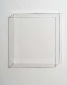 Scatola di perspex trasparente con foro da 5mm