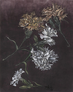 These are still Flowers 1913-2013 No. 1 还是花鸟画1913-2013 1号
