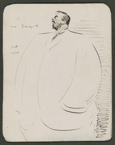 Sketch of John S. Sargent