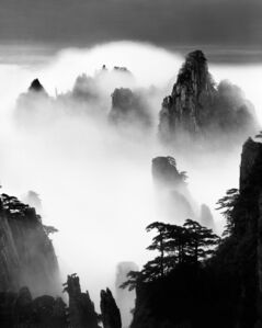 Huangshan A124: Disciples of Buddha and Fairy Maiden Peak